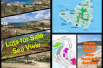 Land - easy access - sea view