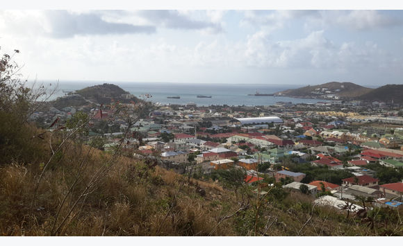 Land view Marigot Bay