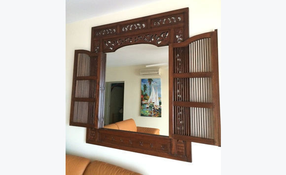 Large wooded carved frame for Mirror