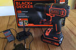 Perceuse/conductrice. Black & Decker