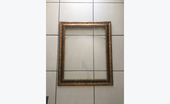 Gilded table frame