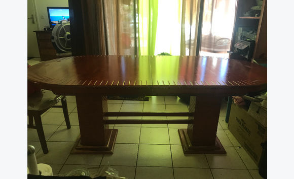 Wooden table 8 place
