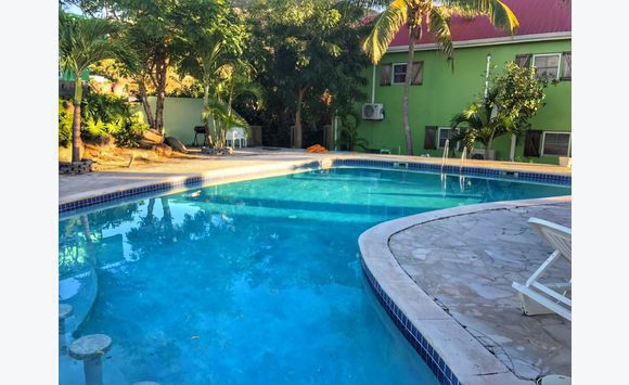 furnished 2 bedroom townhouse with pool