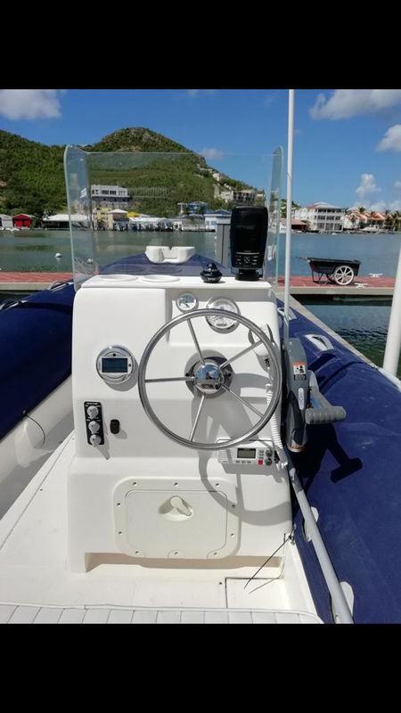 Caribe DL20 + 2013 Evinrude 115 e-tec