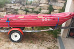 Boat - trailer