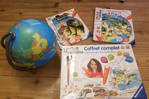 Tip Toy complete box with planisphere
