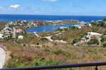 Ocean view furnished upper level 2 B/R 3 bath unit