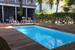 Beautiful 3 hp villa, swimming pool in Orient Bay