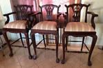 Cadeiras de bar - móveis antigos