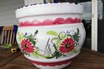 Pot de fleur en céramique