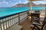 """3 rooms """"feet in the water"""" in Grand Case"""